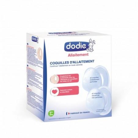 Dodie Coquilles d'allaitement 4 pièces