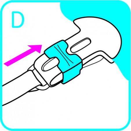 MAM Attache sucette clip it - bleu