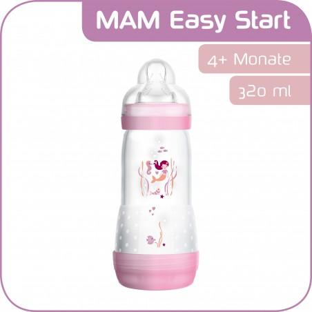 MAM Easy Start Biberon Anti-Colique girl 320ml