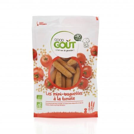 Good Gout Mini baguettes à la tomate Bio